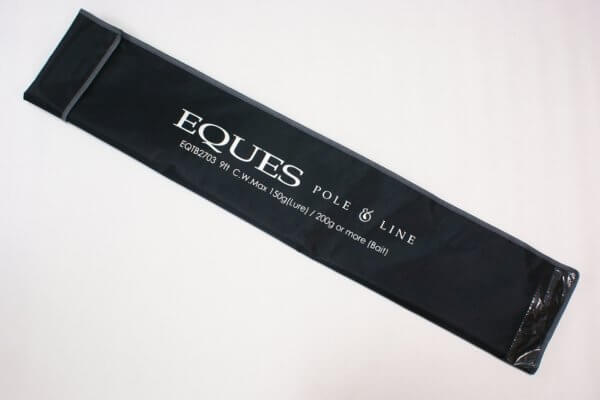 rod bag of EQUES catfish rod