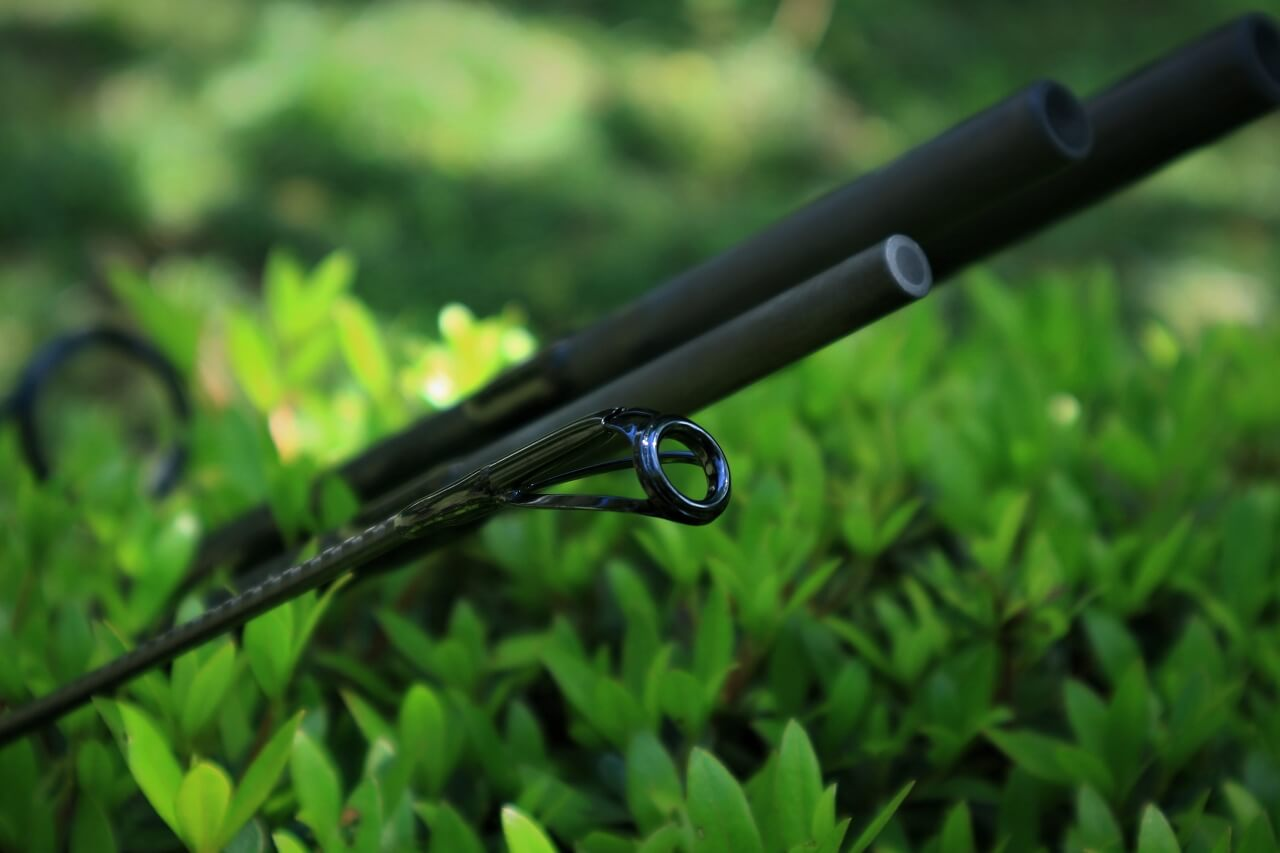 The top guide of 4pc carp rod ANTELOPE 13ft6in 3.75lb