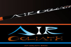 air goliath 8400 long fixed line rod for salmon
