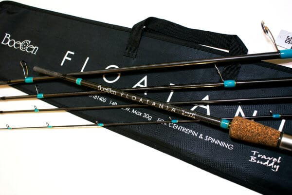 FLOATANIA 14ft 5pc float/centerpin rod for big salmon